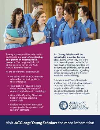 F18407 - Young Scholars Program Flier for Teachers (1)-2