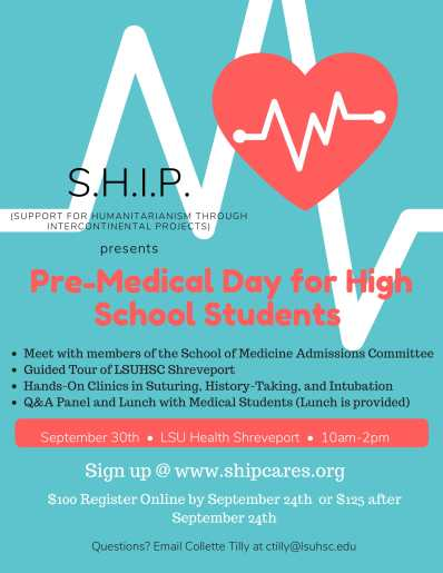 Pre-Medical Day for High School Students-1