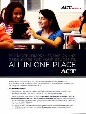 ACT Academy - front