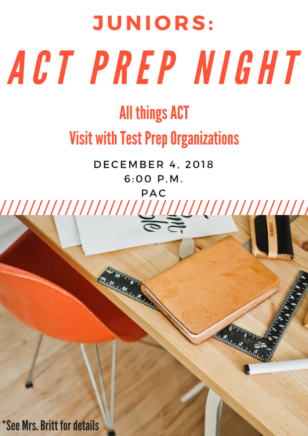 ACT PREP NIGHT 18-19